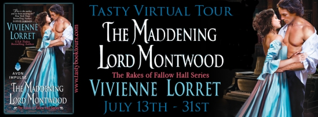 Tasty Virtual Book Tour - The Maddening Lord Montwood