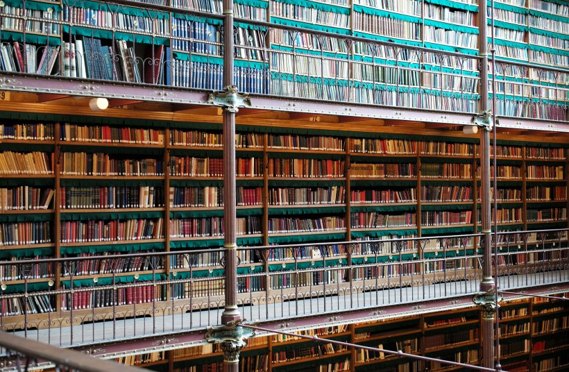 The Library at the Rijks Museum in Amsterdam. Photo by Roman Boed on Flickr