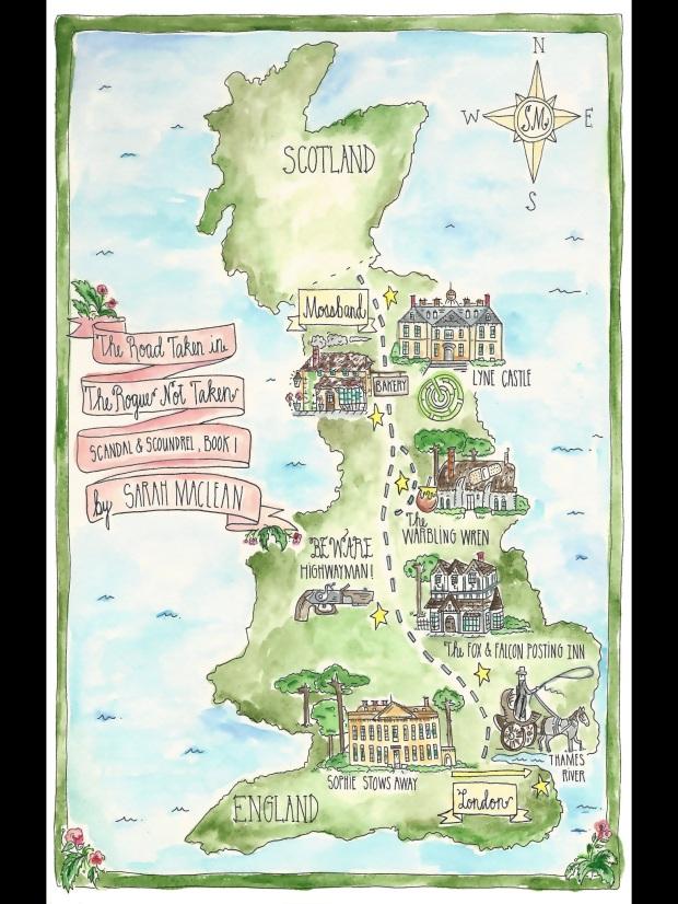 Road Taken Map